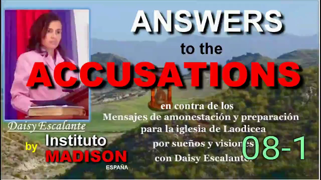 08-1 06 ANSWERS TO ACCUSATIONS SDA Organization - Corporate responsibility