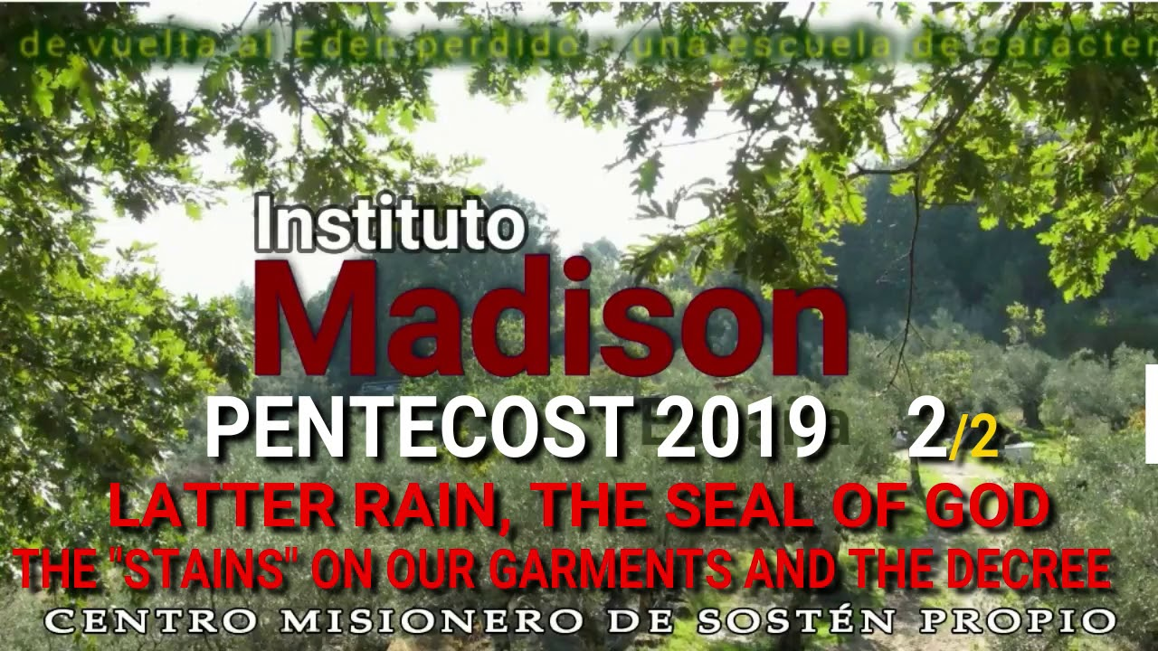 Instituto Madison - STAINS ON OUR GARMENTS PART 2