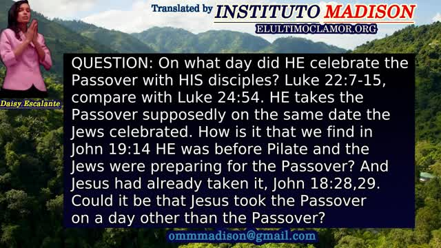 EN QUESTIONS AND ANSWERS PASSOVER 2021 PART 1