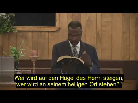 DEU PROPHECY SCIENCE & The NEW WORLD ORDER Part 2 Stand In The Holy Place Pastor Arthur Branner 8 18