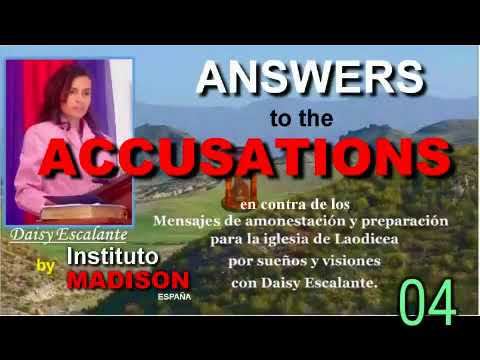 04 EN ANSWERS TO THE ACCUSATIONS   Martyrdom