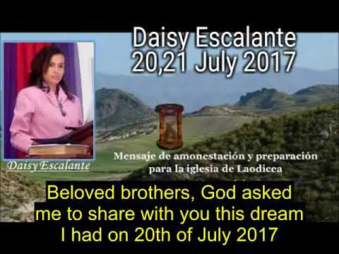 SDA OUT OF THE CITIES EN - VISIONS OF THE END - Daisy Escalante - 20 and 21/07/2017